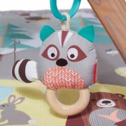 Tarcza z rzutkami na rzepy Żaba Hungry Toss Ribbity B. Toys