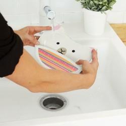 Piłka futbolowa sensoryczna zielona Rubbabu