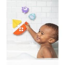 Piłka tenisowa sensoryczna żółta Rubbabu