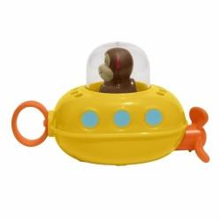 Piłka figury geometryczne sensoryczna pomarańczowa Rubbabu