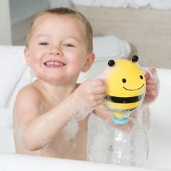 Piłka figury geometryczne sensoryczna turkusowa Rubbabu