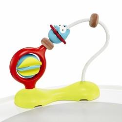 Piłka kratery sensoryczna czerwona Rubbabu