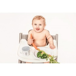 Summer Torba Do Wózka Navy Polka Dot