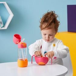 Olbrzymia drewniana kostka edukacyjna Zany Zoo B. Toys Zwierzątka