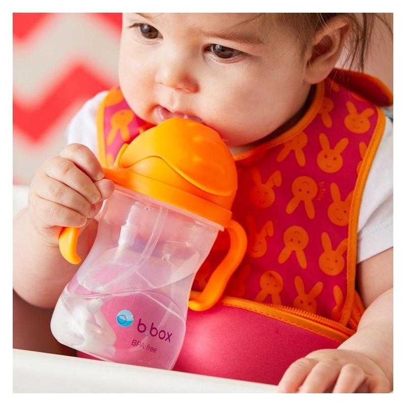 BRUSH-BABY FlossBrush szczoteczka manualna dla dzieci wieku od 3 do 6 lat niebieska