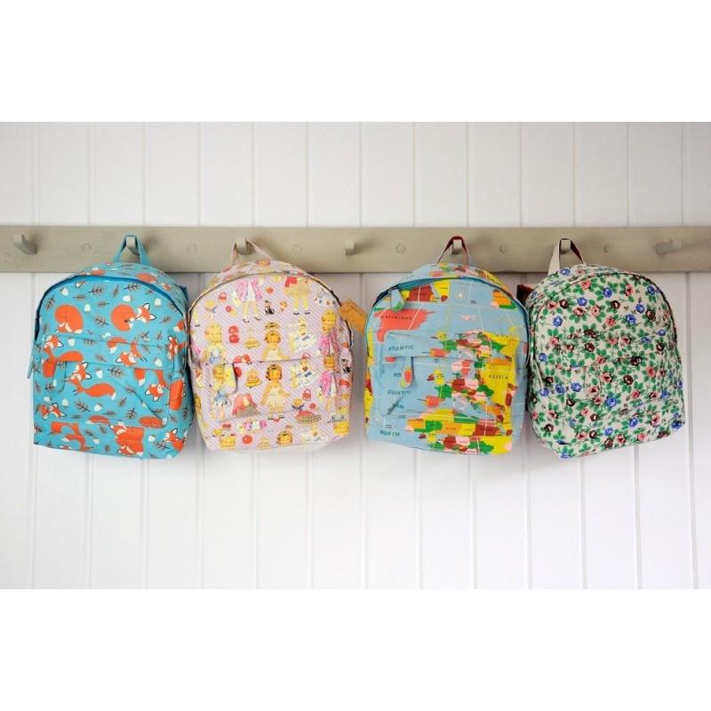 BRUSH-BABY FlossBrush szczoteczka manualna dla dzieci wieku od 3 do 6 lat pomarańczowy