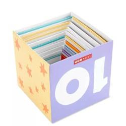 Klocki jeżyki w walizce 113 elementów wersja SAFARI deluxe Bristle Blocks