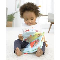 Łódź holownicza czerwona GTTUG01RR Green Toys