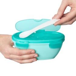 Scrunch-bucket Zwijane wiaderko silikonowe, Lila Funkit World